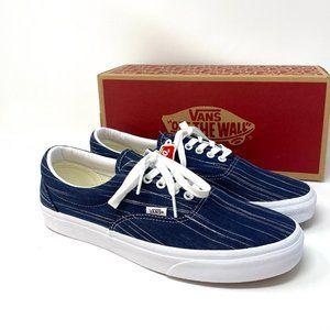 VANS Era Suiting Blue Canvas Men's Sneakers